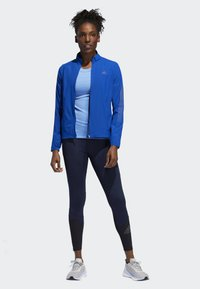 adidas Performance - RISE UP N RUN JACKET - Veste de running - blue - 1