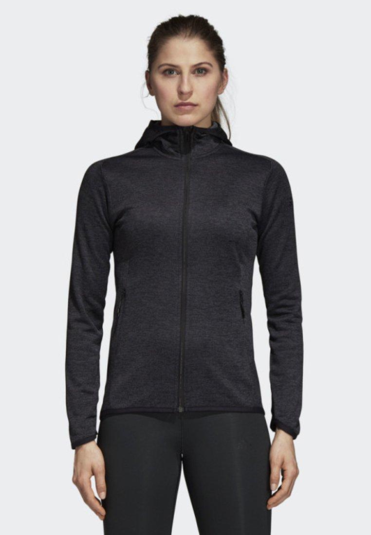 adidas Performance - FREELIFT TECH WARM HOODIE - Trainingsvest - grey