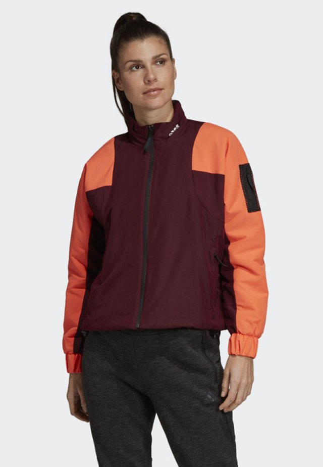 BACK-TO-SPORT LINED INSULATION JACKET - Hardloopjack - red