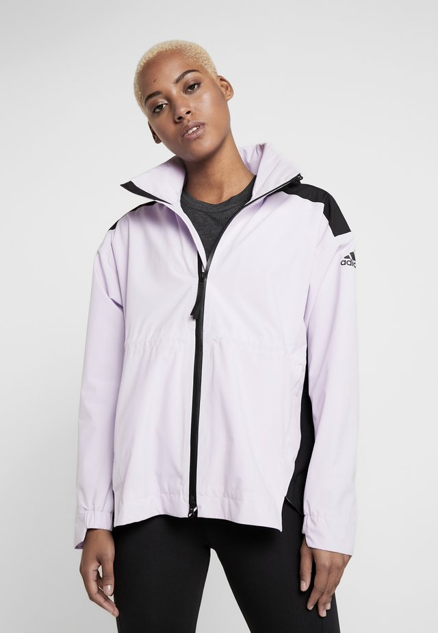 URBAN RAIN.RDY  - Waterproof jacket - lilac/black