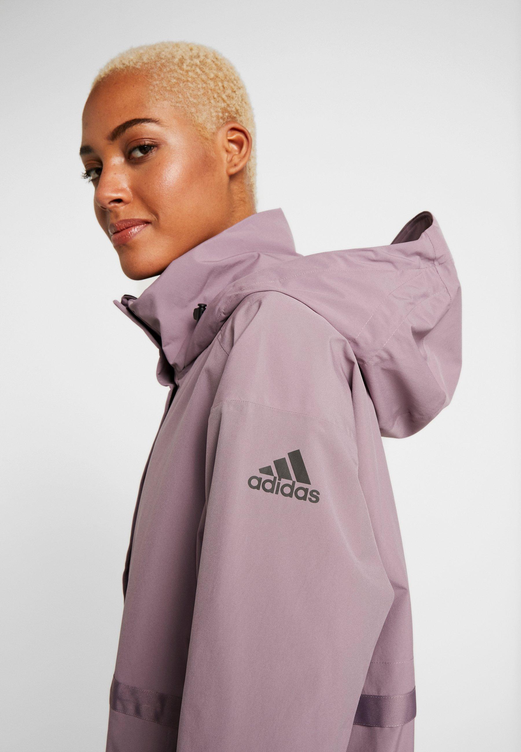 Adidas Performance Urban Rain.rdy - Parkas Legend Purple
