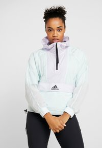 adidas Performance - CROPPED WIND.RDY  - Veste coupe-vent - mint - 0
