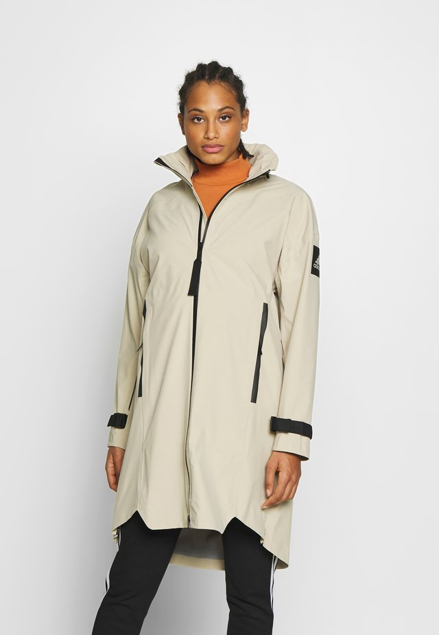 MYSHELTER RAIN.RDY  - Waterproof jacket - savann