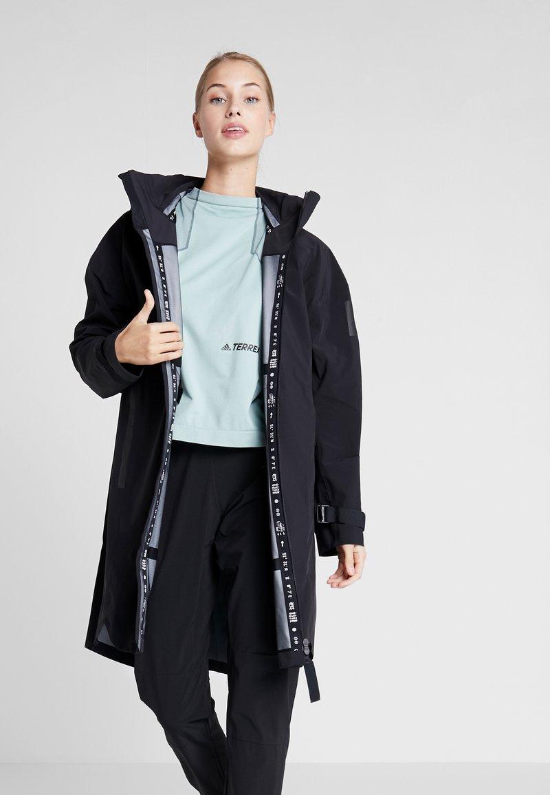 adidas Performance - MYSHELTER RAIN.RDY  - Waterproof jacket - black