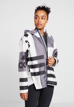 URBAN ALLOVER PRINT WIND.RDY - Sadetakki - white