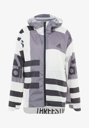 URBAN ALLOVER PRINT WIND.RDY - Impermeable - white