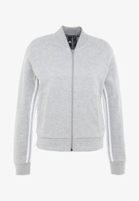 adidas Performance - Trainingsvest - medium grey heather/white - 4