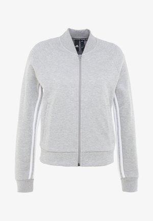 Veste de survêtement - medium grey heather/white