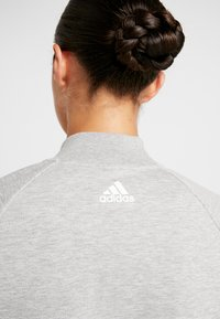 adidas Performance - Trainingsvest - medium grey heather/white - 5