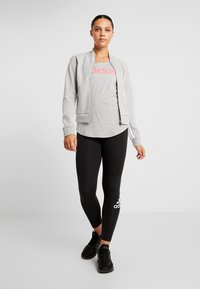 adidas Performance - Trainingsvest - medium grey heather/white - 1