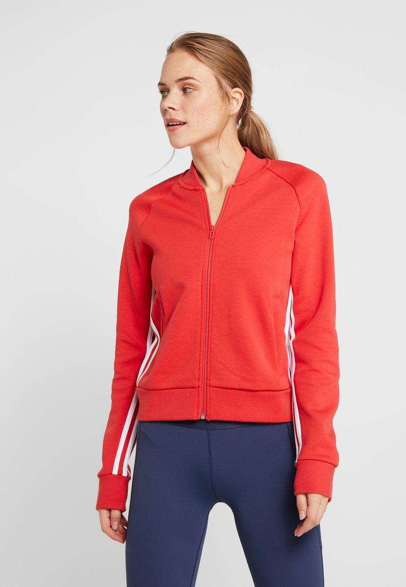 adidas Performance - MUST HAVE ATHLETICS TRACKSUIT JACKET - Training jacket - glored/white