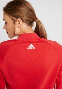 adidas Performance - MUST HAVE ATHLETICS TRACKSUIT JACKET - Training jacket - glored/white - 5
