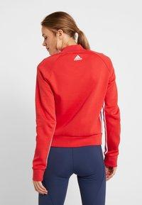 adidas Performance - MUST HAVE ATHLETICS TRACKSUIT JACKET - Training jacket - glored/white - 2