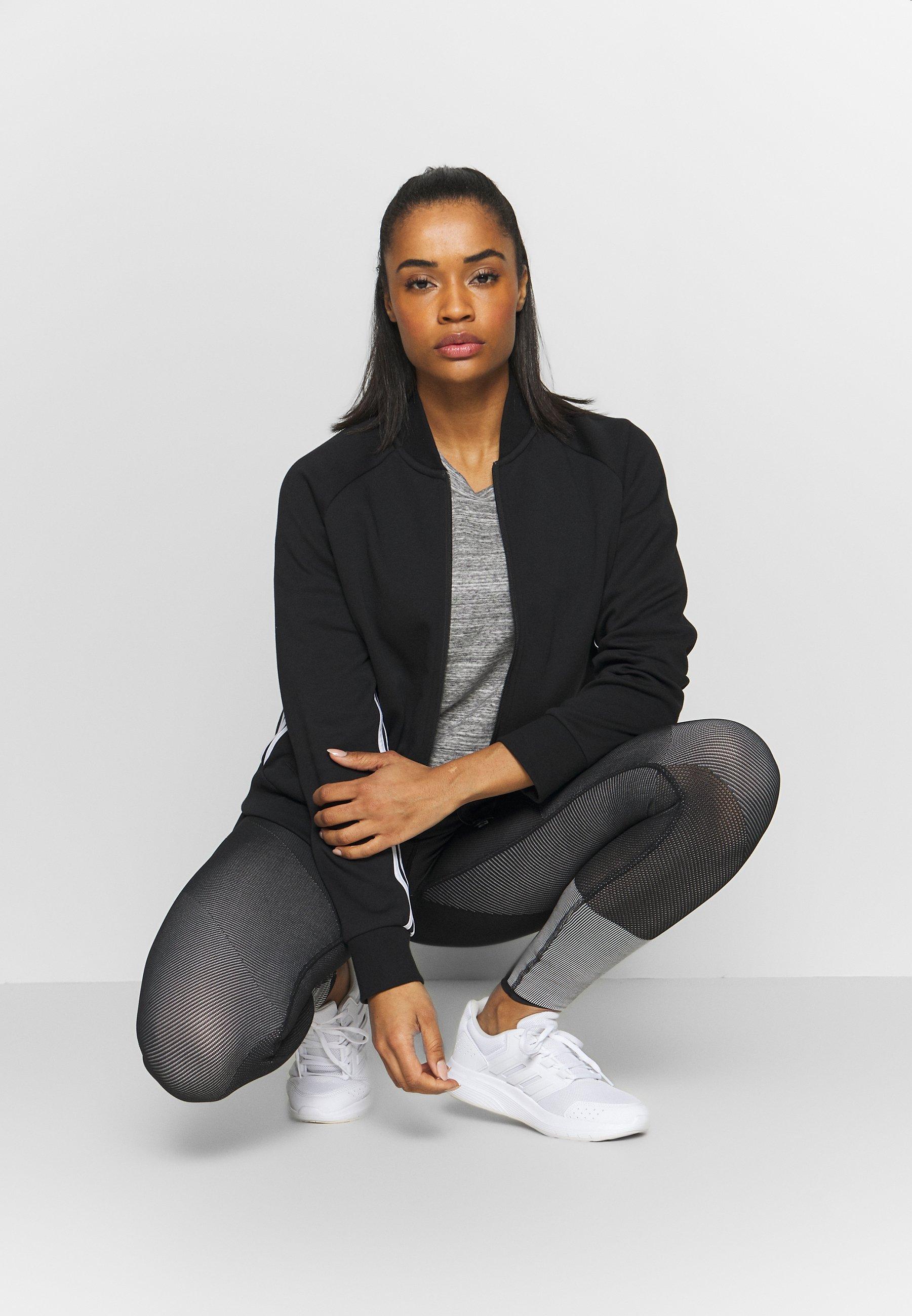 Adidas Performance Must Have Athletics Tracksuit Jacket - Träningsjacka Black/white