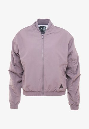 BOMBER - Trainingsjacke - purple