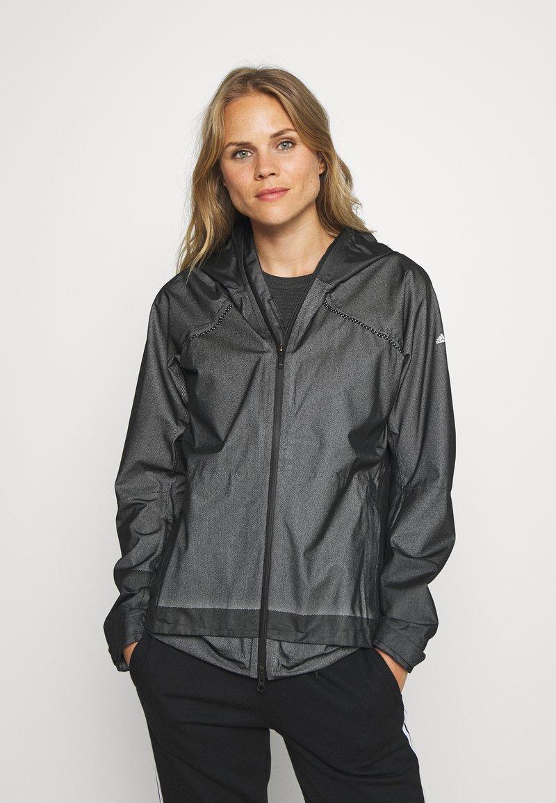 adidas Performance - Hardshell jacket - black