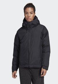 adidas Performance - URBAN INSULATED RAIN JACKET - Sports jacket - black - 0
