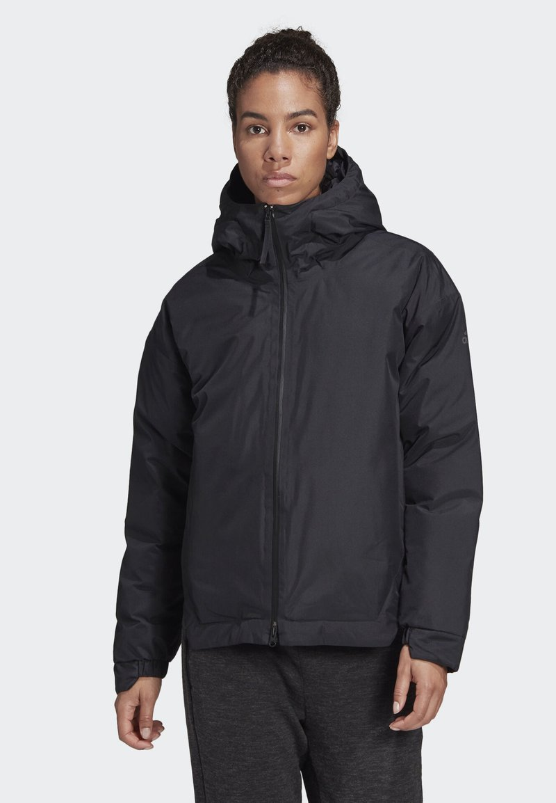 adidas Performance - URBAN INSULATED RAIN JACKET - Sports jacket - black