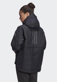 adidas Performance - URBAN INSULATED RAIN JACKET - Sports jacket - black - 2
