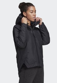 adidas Performance - URBAN INSULATED RAIN JACKET - Sports jacket - black - 4
