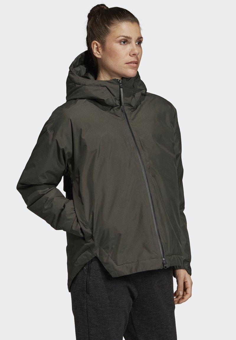 adidas Performance - URBAN INSULATED RAIN JACKET - Outdoorjas - green