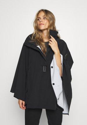 MYSHELTER CAP - Hardshell jacket - black