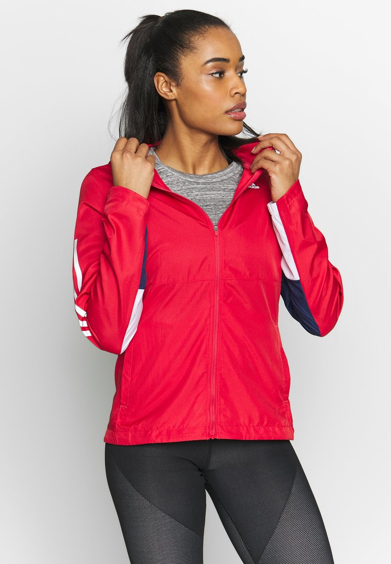 adidas Performance - OWN THE RUN - Giacca sportiva - red