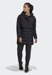 adidas Performance - MYSHELTER CLIMAHEAT PARKA - Down coat - black - 1