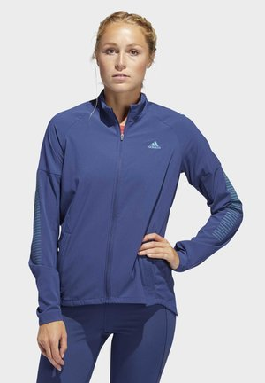 RISE UP N RUN JACKET - Trainingsjacke - tech indigo