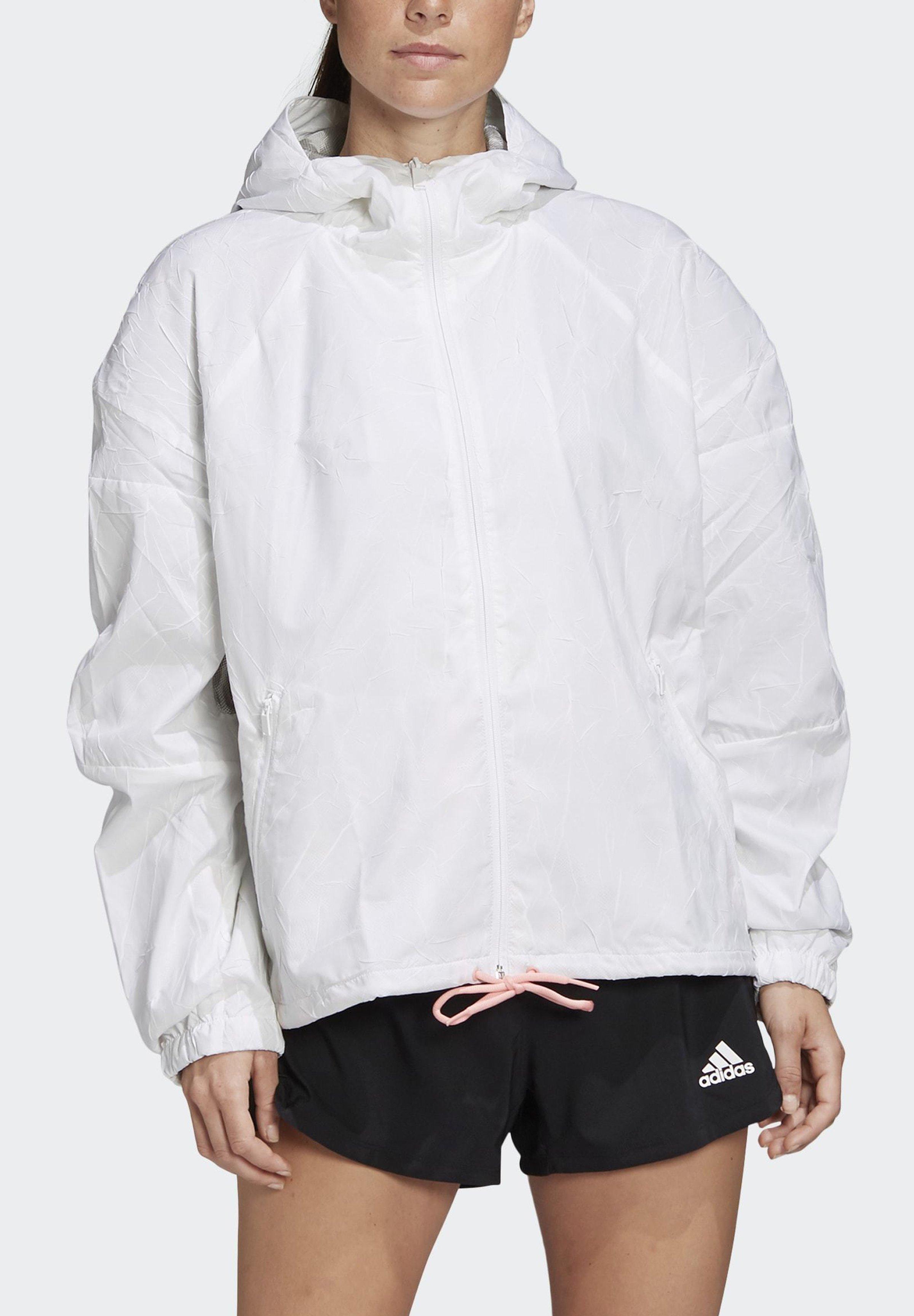 adidas Performance ADIDAS W.N.D. ITERATIONS JACKET - Regnjakke - white