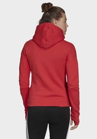 adidas Performance - Zip-up hoodie - glory red - 1