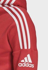 adidas Performance - Hoodie met rits - glory red - 4