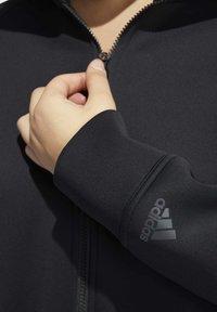 adidas Performance - LONG TRACK TOP - Winter coat - black - 6