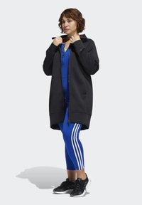 adidas Performance - LONG TRACK TOP - Winter coat - black - 1