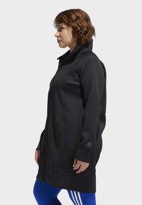 adidas Performance - LONG TRACK TOP - Winter coat - black - 4