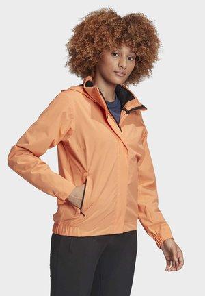 TERREX AX RAIN JACKET - Waterproof jacket - orange