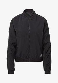 adidas Performance - WOVEN BOMBER JACKET - Training jacket - black - 8