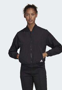adidas Performance - WOVEN BOMBER JACKET - Training jacket - black - 0