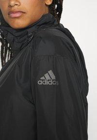 adidas Performance - URBAN - Pitkä takki - black - 7