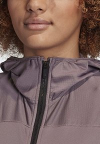 adidas Performance - TRACE ROCKER HOODED FLEECE JACKET - Fleecejakke - purple - 6