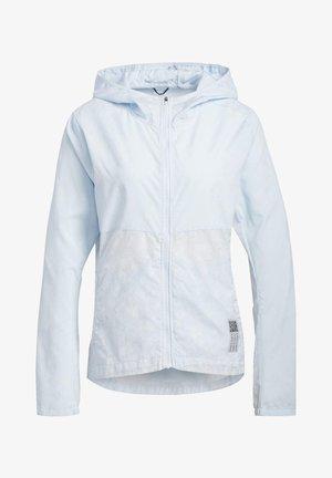 OWN THE RUN HD WINDBREAKER - Waterproof jacket - blue