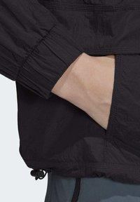 adidas Performance - CROPPED WIND.RDY WINDBREAKER - Vindjakke - black - 7