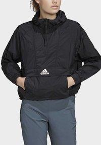 adidas Performance - CROPPED WIND.RDY WINDBREAKER - Vindjakke - black - 5