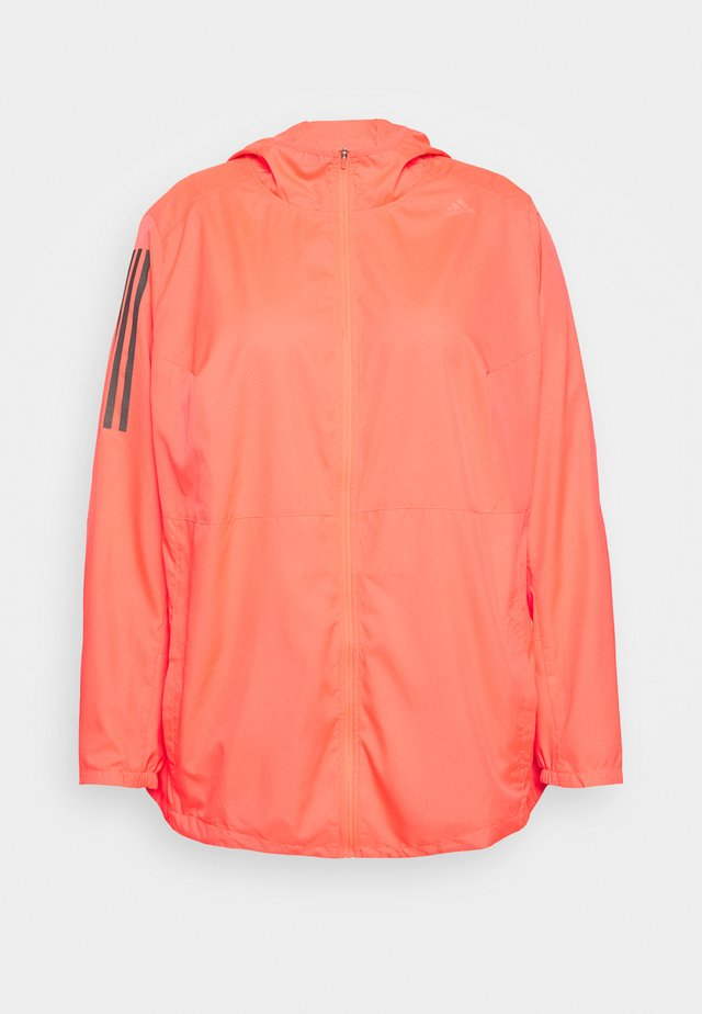 OWN THE RUN - Laufjacke - pink