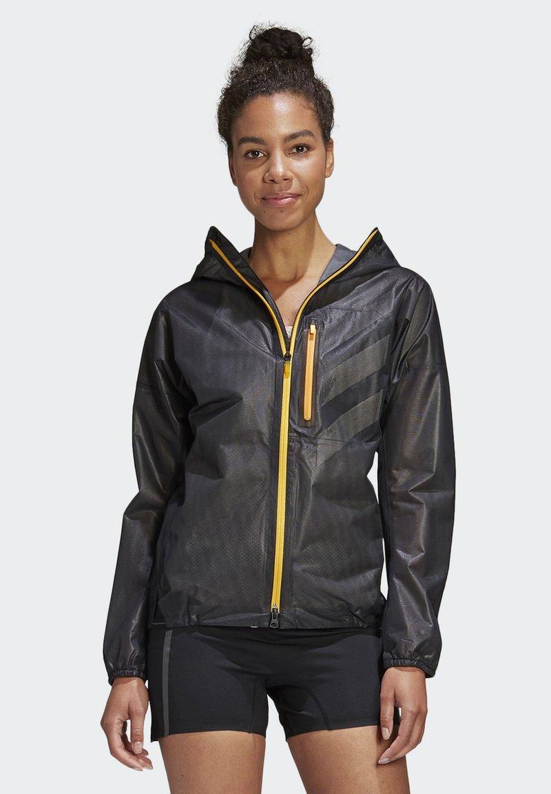 adidas Performance - TERREX AGRAVIC RAIN JACKET - Waterproof jacket - black