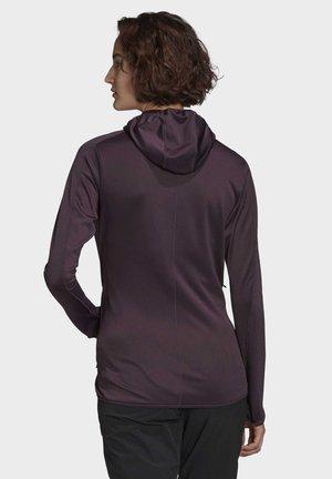 TRACE ROCKER HOODED FLEECE JACKET - Training jacket - purple