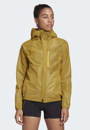 TERREX AGRAVIC RAIN JACKET - Waterproof jacket - gold