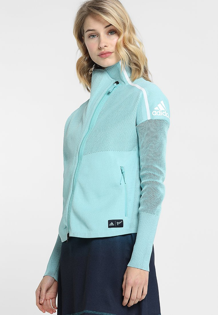 adidas Performance - PARLEY HOOD - Trainingsjacke - blue