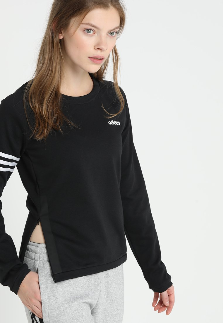 adidas Performance - CREW - Sweater - black/white