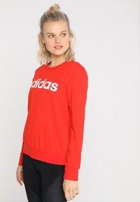 adidas Performance - Sweatshirt - active red/white - 0